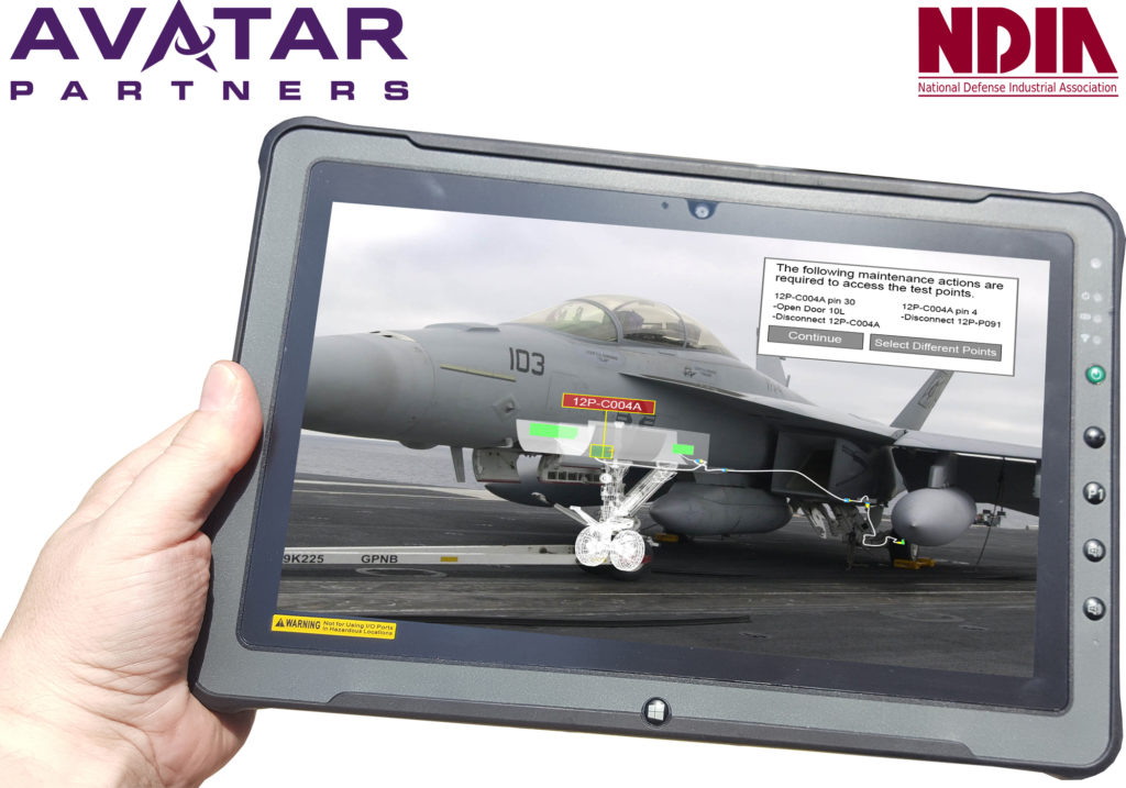 NDIA has selected AVATAR Partners to demonstrate their advanced AR technology at the 2018 Augmented Reality Workshop!