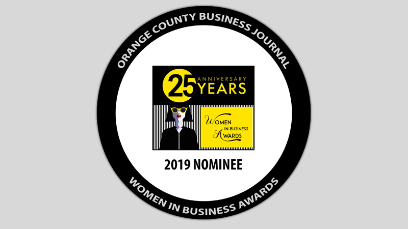 Marlo Brooke nominated as top businesswoman in Orange County by OCBJ's Women in Business awards!