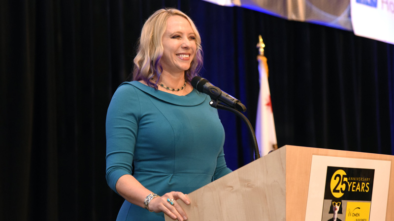 Marlo Brooke honored with Orange County Business Journal's Women in Business Award!