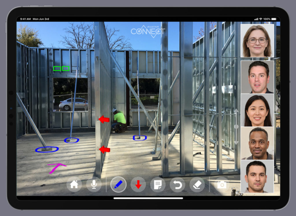 Team work from a distance: AR solution brings employees together